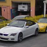 BMW M6 and Chevrolet Corvette (StreetView)