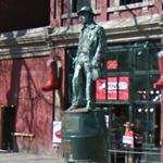 Captain John Deighton Statue