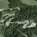 Igls bobsleigh, luge, and skeleton track (Google Maps)