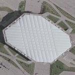 Pontiac Silverdome (Google Maps)