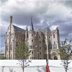 'Episcopal Palace of Astorga' by Antoni Gaudí (StreetView)