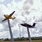 Planes on display