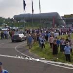 Mille Miglia 2009 in Maranello