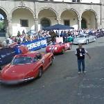 Mille Miglia 2009 in Viterbo (StreetView)