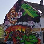 Wall mural (StreetView)