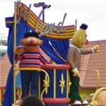 Bert and Ernie characters (StreetView)