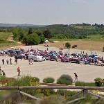 Mille Miglia 2009 in Monteriggioni