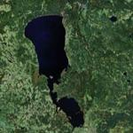 Lake Peipus (Google Maps)
