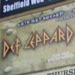 Def Leppard & Whitesnake concert ad