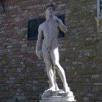 Replica of Michelangelo's David