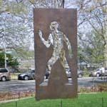 'Invisible Man: A Memorial to Ralph Ellison ' by Elizabeth Catlett (StreetView)