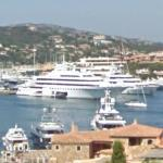 Yachts Lady Moura and Saint Nicolas