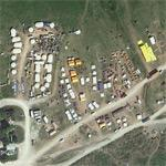 2010 Haiti Earthquake Recovery Aid Supplies Staging Area (Google Maps)