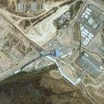 Erez Crossing on the Gaza border (Google Maps)