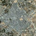 Jabalia refugee camp (Google Maps)