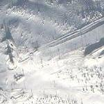 Rukatunturi ski jumping hill (Google Maps)