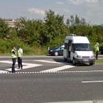 Vehicle control by danish police (StreetView)