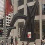 'Crossed Blades' by Alexander Calder (StreetView)