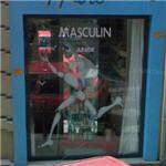 Graffiti / shop windows by Jérôme Mesnager