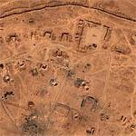 Bomb Craters on Syrian Border