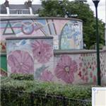 Brixton Mural Project - 'Stockwell War Memorial' by Brian Barnes (on bomb shelter)
