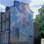 Brixton Mural Project - 'Mural 2' by London Wall Public Art (StreetView)
