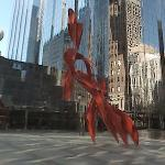 'Simply Red' by Alexander Lieberman (StreetView)