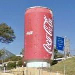 Giant Coca Cola can