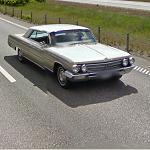 Classic US car (StreetView)