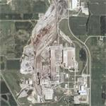 Nucor steel sheet mill (Google Maps)