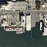 Casinos in Biloxi (Google Maps)