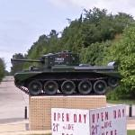 7th Armoured Division Memorial (Mark IV Cromwell Tank)