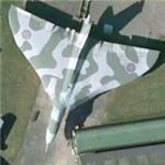 Avro Vulcan (Google Maps)