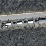 Delivery of Katrina FEMA trailers (Google Maps)