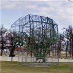 Radar on static display (StreetView)