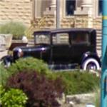 Car from the movie 'Bonnie and Clyde' (StreetView)