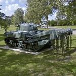 Sherman Flail tank