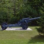"""German 150 mm sFH18 howitzer """"Immergrün"""""""