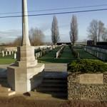 WWI: Rue-David Military Cemetery