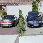 Porsche and Bentley (StreetView)