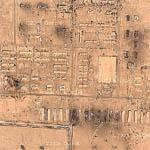 Bomb Damage Within Complex on outskirts of Fallujah (Google Maps)