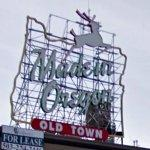 """Made in Oregon"" sign (StreetView)"