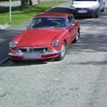 MGB GT coupe (StreetView)