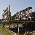 Big Chute Marine Railway (ship lift / lock) (StreetView)