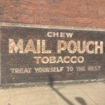 Mail Pouch Tobacco ad