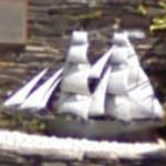 "Sailing ship ""Cwm Trader"" (Scale Model)"