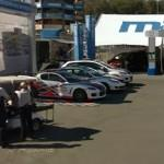 Three safety cars at Laguna Seca