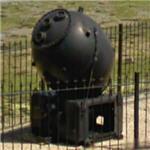 Naval mine (StreetView)