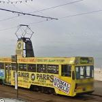 Blackpool Centenary car (StreetView)