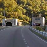 Negrón tunnel on the side of Asturias